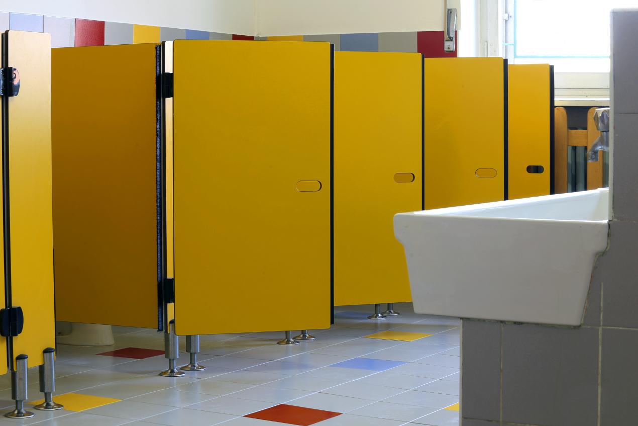 toaleta w szkole